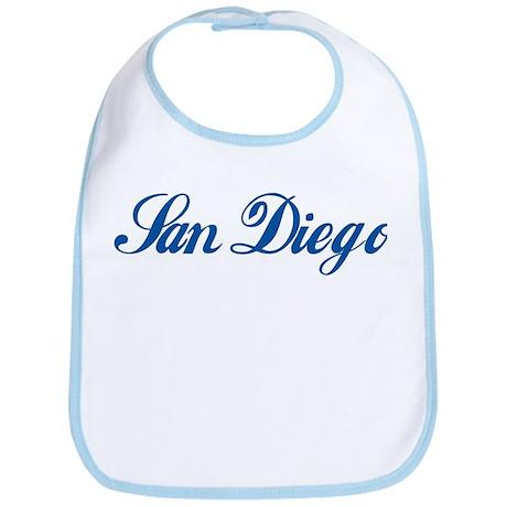 San Diego (cursive) Bib