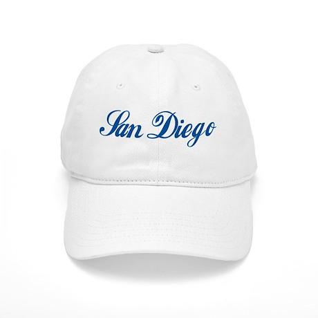 San Diego (cursive) Cap