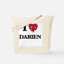 I Love Darien Tote Bag