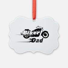 Biker Dad Ornament