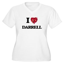 I Love Darrell Plus Size T-Shirt