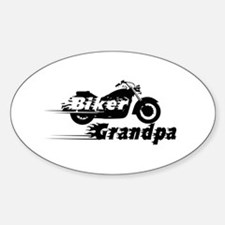 Biker Grandpa Decal
