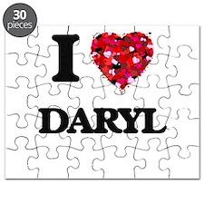 I Love Daryl Puzzle