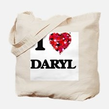 I Love Daryl Tote Bag