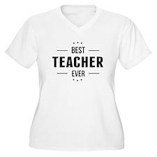 Best Teacher Ever Plus Size T-Shirt