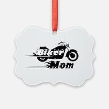 Biker Mom Ornament