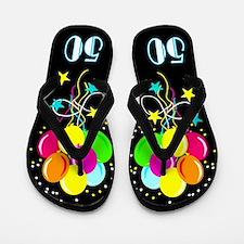 Terrific 50th Flip Flops