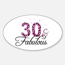 30 and Fabulous Decal