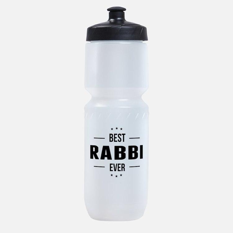 Best Rabbi Ever Sports Bottle