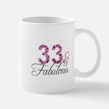 33 and Fabulous Mugs