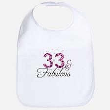 33 and Fabulous Bib