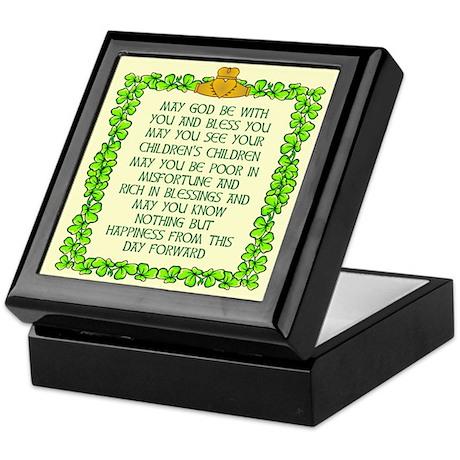 Scott Designs Irish Blessing Keepsake Box