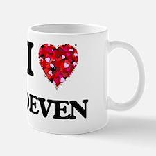 I Love Deven Mug