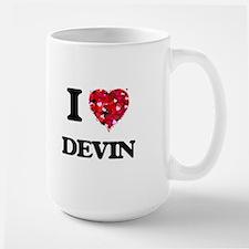 I Love Devin Mugs