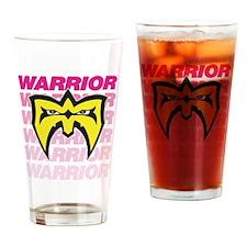 "Ultimate Warrior ""Retro Logo"" Drinking G"