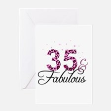 35 and Fabulous Greeting Cards