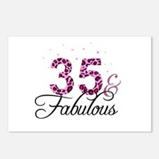 35 and Fabulous Postcards (Package of 8)