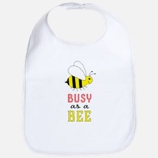 Busy as a Bee Baby Bib
