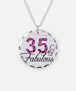 35 and Fabulous Necklace