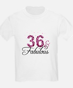 36 and Fabulous T-Shirt