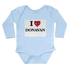 I Love Donavan Body Suit