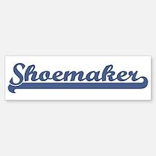 Shoemaker (sport-blue) Bumper Bumper Bumper Sticker