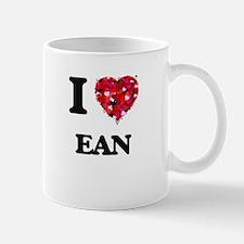 I Love Ean Mugs