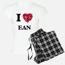 I Love Ean Pajamas