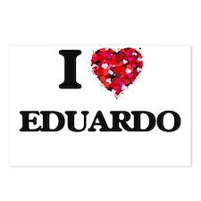 I Love Eduardo Postcards (Package of 8)
