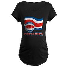 Costa Rica Soccer Ball and  T-Shirt