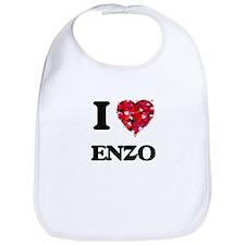 I Love Enzo Bib