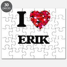 I Love Erik Puzzle