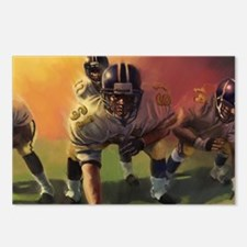 Football Players Painting Postcards (Package of 8)