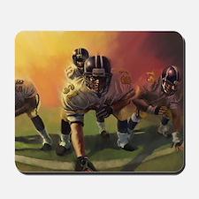 Football Players Painting Mousepad