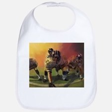 Football Players Painting Bib