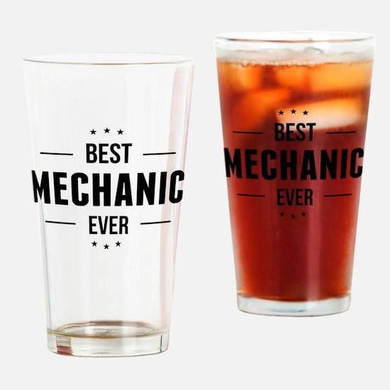 Best Mechanic Ever Drinking Glass