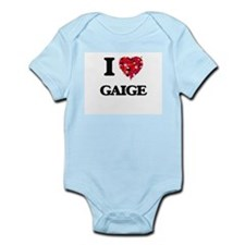 I Love Gaige Body Suit