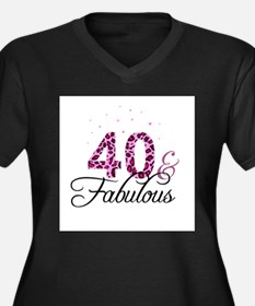 40 and Fabulous Plus Size T-Shirt