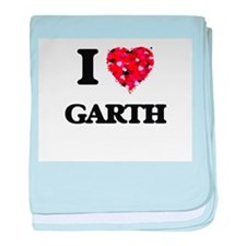 I Love Garth baby blanket
