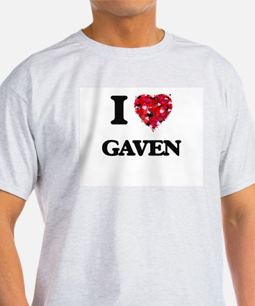 I Love Gaven T-Shirt