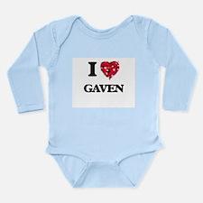 I Love Gaven Body Suit