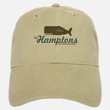 The Hamptons - Whale Design. Baseball Baseball Cap