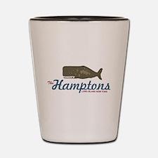 The Hamptons - Whale Design. Shot Glass
