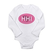Hilton Head Island SC Long Sleeve Infant Bodysuit