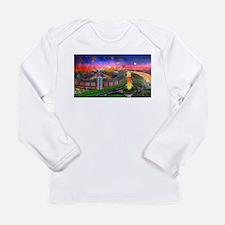 Jones Beach Theatre with Firew Long Sleeve T-Shirt