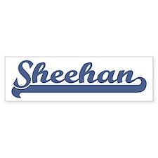 Sheehan (sport-blue) Bumper Bumper Sticker