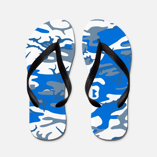Ice Water Blue Flip Flops