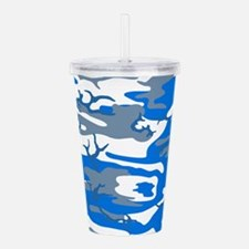 Ice Water Blue Acrylic Double-wall Tumbler