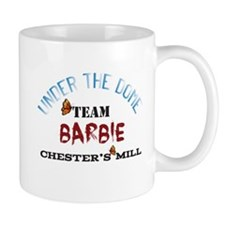 Under the Dome Team Barbie Mugs