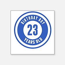 Birthday Boy 23 Years Old Sticker